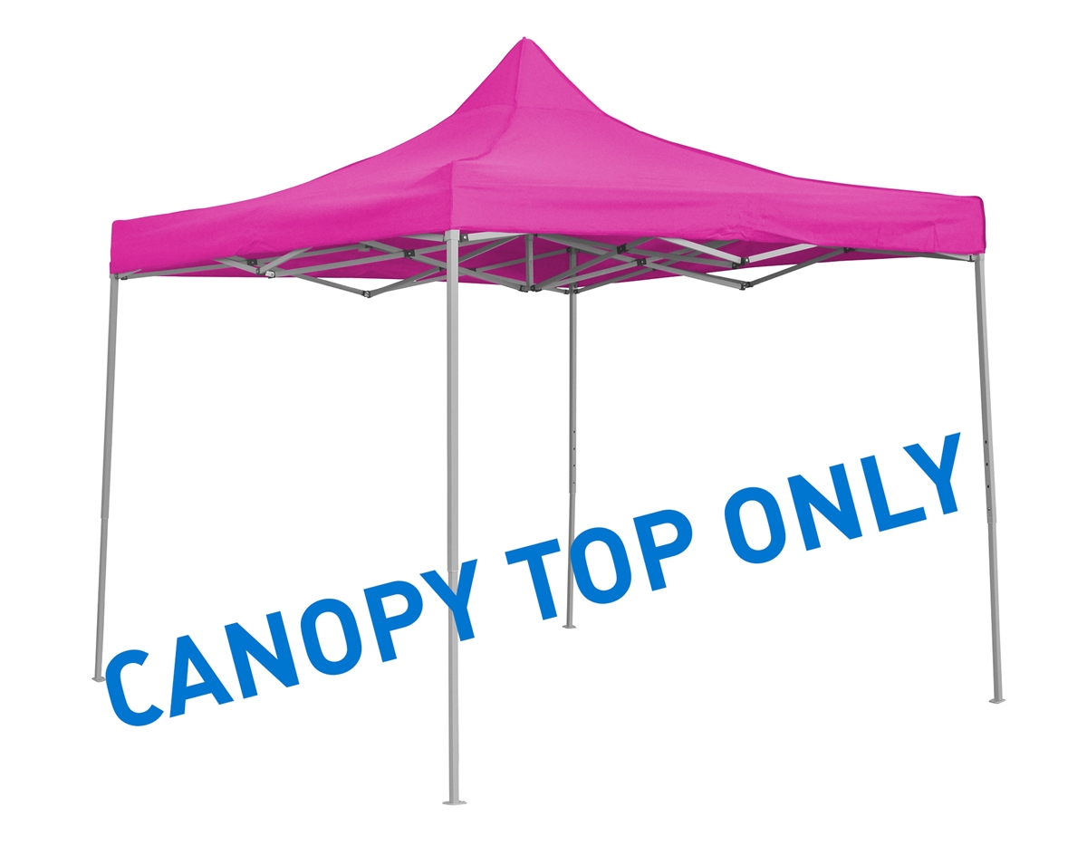 10u0027 x 10u0027 Square Replacement Canopy Gazebo Top Assorted Colors By Trademark Innovations (Pink)  sc 1 st  Trademark Innovations & x 10u0027 Square Replacement Canopy Gazebo Top Assorted Colors By ...