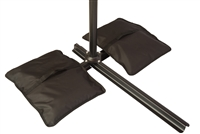 Set of 2 Saddlebag Style SWeight Bags for Anchoring Patio Umbrellas by Trademark Innovations