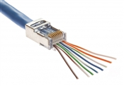 Shielded EZ-RJ45 for CAT5e & CAT6