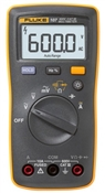 Fluke 107 Palm-sized, CAT III Digital Multimeter
