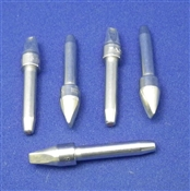Soldering Tips 1/8in Chisel(Thermo-drive) for PS-90 soldering irons - Pkg of 5