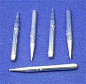 Soldering Tips 1/32in Conical for PS-90 soldering irons - Pkg of 5