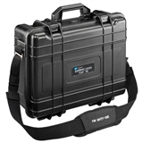 "114.17/P, Tool Case, Jet with Pockets, BLACK, 16.75"" x 13.75"" x 6.5"""