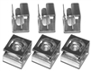 100 Pack 10-32 Zinc Plated Clip Nuts