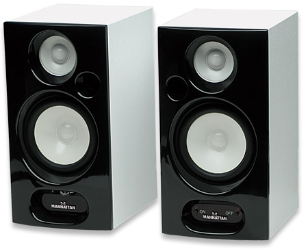 2800 Acoustic Series Bluetooth Bookshelf Speaker System 2 Speakers