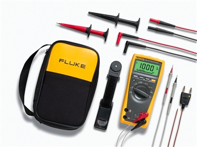 Fluke 179/EDA2 True RMS Digital Multimeter and Deluxe Accessory Combo Kit