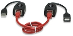 USB Line Extender Extends The Distance To Any USB Device Up To 60 m (196 ft.)