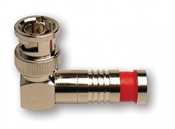 BNC-Type Rt. Angle Nickel SealSmart Coaxial Compression Connectors