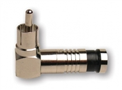RCA-Type Rt. Angle Nickel SealSmart Coaxial Compression Connectors