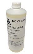 AIM Solder NC264-5 No Clean Liquid Flux, 1 Liter