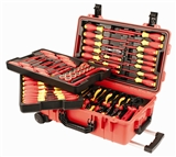 Insulated 80 Pc Set In Rolling Tool Case