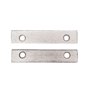 353 PLATED STEEL JAWS (pair) for 301, 303, 304 & 381 w/screws