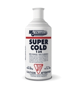 Super Cold 134 Plus, 285 grams (10 oz) aerosol