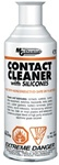Contact Cleaner With Electronic Grade Silicone, 340 grams (12 oz) aerosol