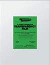 Laser Print Transparency Film, Transparency film (5 sheets)