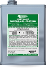 Urethane Conformal Coating, 3.78 litres (1 gallon) liquid