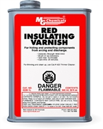 Red Insulating Varnish, 945 ml (1 quart) liquid