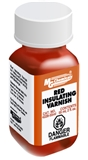 Red Insulating Varnish, 55 ml (2 oz) Bottle
