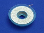 "Static Free Super Wick, Size No.(1), Width(.025""), Colour Code(White), Length(1.5M)"