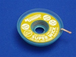 "Lead Free Super Wick w/ No Clean Flux, Size No.(2), Width(.050""), Colour Code(Yellow), Length(1.5M)"