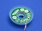 "Lead Free Super Wick w/ No Clean Flux, Size No.(3), Width(.075""), Colour Code(Green), Length(1.5M)"