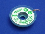"Static Free No Clean Super Wick, Size No.(3), Width(.075""), Colour Code(Green), Length(1.5M)"