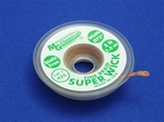 "Static Free Super Wick, Size No.(3), Width(.075""), Colour Code(Green), Length(1.5M)"