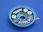 "Lead Free Super Wick w/ No Clean Flux, Size No.(4), Width(.10""), Colour Code(Blue), Length(1.5M)"