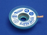 "Static Free No Clean Super Wick, Size No.(4), Width(100""), Colour Code(Blue), Length(1.5M)"
