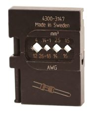 Die Set for Power Contacts 26-12AWG