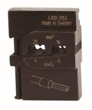 DieSet for WireFerrules Ins & Non 6&4AWG