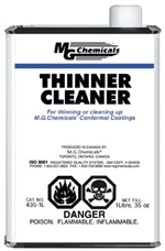 Thinner/Cleaner Solvent, 945 ml (1 quart) liquid