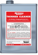 Thinner/Cleaner Solvent, 3.78 litres (1 gallon) liquid
