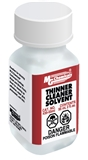 Thinner/Cleaner Solvent, 55 ml (2 oz) Bottle
