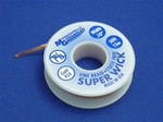 "Static Free Super Wick, Size No.(4), Width(.100""), Colour Code(Blue), Length(50')"