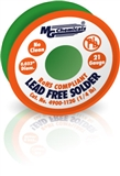 "SAC305 (Sn96) LF, NC,  0.032"", 21 Gauge, 96.3% tin, 0.7% copper and 3% silver, 1 lb (454 g) Spool, Lead-Free Solder Wire"