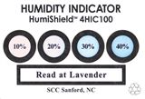 SCS Humidity Indicator Card (HIC), 4 Spot, 100/Can