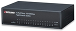 16-Port Fast Ethernet Office Switch Desktop, Metal
