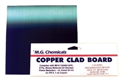 "Presensitized Copper Clad Boards�Positive (1 oz copper), Single Sided, 1/32"", 4""x6"""