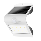 LED SMART SOLAR OUTDOOR WALL LIGHT WITH PIR MOTION SENSOR 8+2 LEDS BLISTER PACKAGE IP65