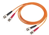 Patch Cord - ST MM - 62.5/125um 3.0mm - Duplex - Orange - 3.0 Meters