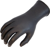 Nitrile N-DEX NightHawk Black  Disposable Gloves ESD Non-sterile Powder-free