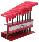 "T-Handle Hex Key Set..3/32"" to 3/8"""
