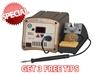 WJS 100 Soldering station with TD-100 Iron and Standard Cubby