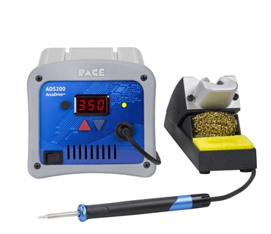 ADS200 AccuDrive Production Soldering Station 120 VAC with Instant SetBack Cubby + 2 FREE Tips