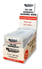 70/30 ISOPOROPYL ALCOHOL WIPE - INDIVIDUAL PACKS, 2.5 grams, 25 Pack