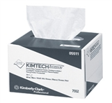 "Kimtech Precision Wipers for fiber optic cleaning, 280 wipes per box, 4.4"" x 8.4"""", wipe"