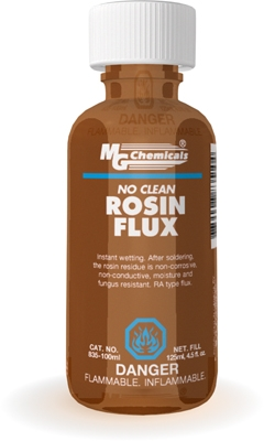 835 100ml Liquid Rosin Flux Mg Chemicals
