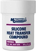 Silicone Heat Transfer Compound 60g (2 oz) Jar