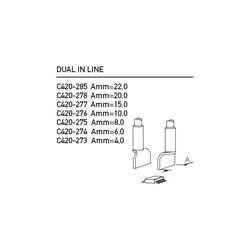 "C420 Cartridge Hot Tweezer  for Dual In-Line ICs ( 0.590"")"